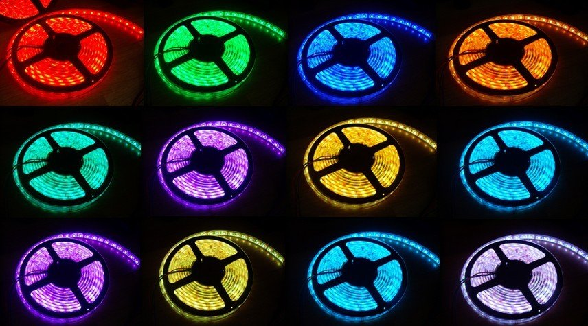 Ul listed high density led strip light aloadofball Gallery