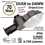 OUTDOOR 70w DUSK TO DAWN LED